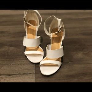 White Charlotte Russe Heels